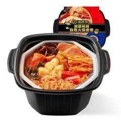 【京东伙伴计划—仅限积分兑换】海底捞 海底捞泡菜风味自热火锅套餐381g