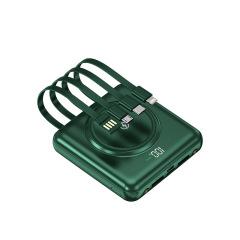 2.1A快充迷你无线充充电宝 自带线大容量移动电源 办活动的小礼品