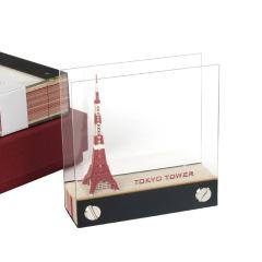 创意3d便签纸便利贴立体东京铁塔模型便利本   定制礼品