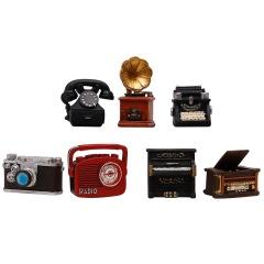复古怀旧相机留声机 家居客厅迷你树脂拍照道具摆件 文艺礼品