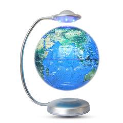 磁懸浮新款樹脂8寸觸摸晚上星座白天地球儀           logo定制辦公特色禮品