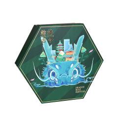 【现货空礼盒】2021端午高端礼盒 六边形粽子包装盒 企业礼品