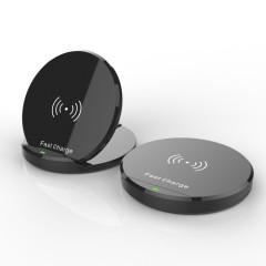 折叠QI标准10W无线充 可定制15W快充 年会实惠的奖品