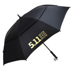 511傘 直桿高爾夫傘雙層傘防風 廣告禮品