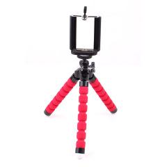 海绵八爪鱼三脚架 懒人手机支架 便携式照相机三脚架 随身携带的小礼品
