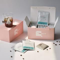 拿铁风味冷萃咖啡礼盒(20枚入) 现磨黑咖啡粉 实用活动奖品