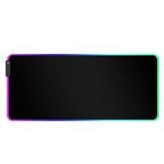 LED游戏鼠标垫 大号发光鼠标垫 橡胶rgb鼠标垫