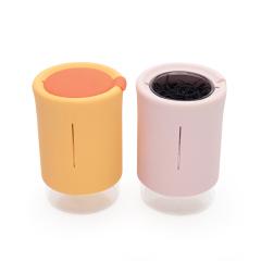 【翻转杯】新款简约旅行茶具套装 小清新款式 企业活动送什么礼品