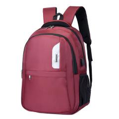 时尚商务差旅电脑包 大容量反光条设计双肩包 商务礼品推荐
