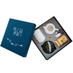 【悦享】羊脂玉一壶四杯茶具套装 活动的礼品 企业活动礼品定制