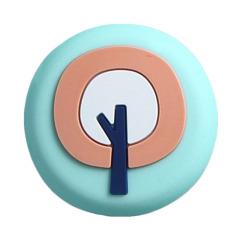 圆形PVC磁性冰箱贴 便签贴摆设装饰 活动小礼品推荐