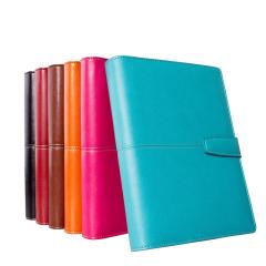 高端皮质活页记事本笔记本日记本子办公文具定制做LOGO  办公小礼品定制 商务礼品有哪些