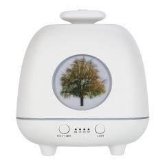 四季精靈香薰機 超聲波家用桌面香薰儀 創意夜燈氛圍燈加濕器
