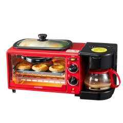 JOHN BOSS (英国)威尔-多功能早餐机 煎+烤+暖饮合一 有创意的公司奖励奖品