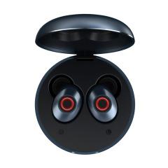REMAX金属收纳盒真无线立体声耳机 便携按键控制无线蓝牙耳机 公司年会抽奖礼物 羽毛球奖品