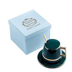欧式复古咖啡礼盒套装 小奢华咖啡杯 单位年会发什么礼品