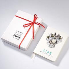 晒一晒就变色的笔记本 丝带笔记本信纸礼盒装 创意年会礼品