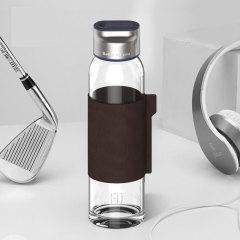 FUGUANG 富光FU+系列玻璃杯 送礼茶水分离过滤泡茶杯 公司年会伴手礼