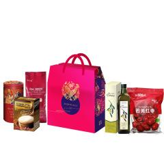 【大吉利礼盒】春节礼盒套装 红茶缤纷经典小叶+橄榄油+白咖啡+茉莉香米+红枣 春节给员工送什么