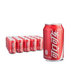 可口可乐 易拉罐 普通罐 330ml装 包装随机发出 新店开业赠品
