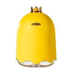小黃鴨 皇冠鴨帶小夜燈迷你桌面加濕器 USB充電 創意禮品有哪些