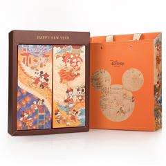 Disney迪士尼 春风得意贺年礼盒 软心挞芝士味饼干+核桃仁+利是糖等 春节送礼