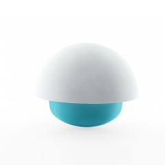 创意USB不倒翁夜灯 硅胶小夜灯 家居新奇特床头拍拍灯