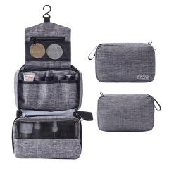 大容量多功能挂钩洗漱包 旅行便携化妆品收纳包 旅游公司展会礼品送什么