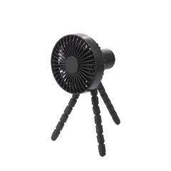 三角架360度可调节桌面小风扇 随身携带多功能风扇 夏季到访礼品