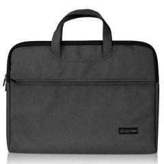 得力(deli)拉鏈式公文包 便攜電腦收納包 商務辦公禮品