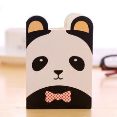 可爱卡通动物笔记本 便携小动物带耳朵异型本日记本 展会 小礼品