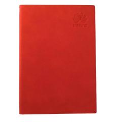 A5纯色软皮笔记本 简约大气PU笔记本定制 培训机构奖品发什么好