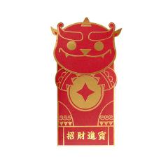 个性创意春节利是封高档新年红包5枚装 业务奖励