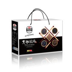 【黑粮风尚】黑色五谷杂粮礼盒 黑大豆糯米玉米糁苦荞套装 公司福利一般有哪些