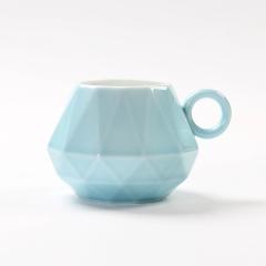 原创钻戒杯 情侣对杯 陶瓷杯马克杯咖啡杯 创意周年礼品