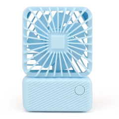迷你现代简约手持桌面充电风扇 户外便携随身USB风扇 会销小礼品 摄影展奖品