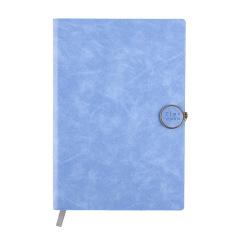 新款优质皮革 创意日记本套装记事本文具 学生 a5商务办公笔记本 笔记本礼品定制