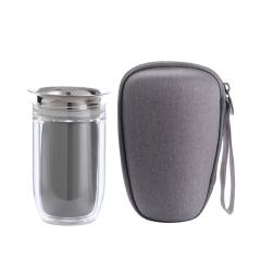 【合一】创意夹心设计旅行套装 一壶二杯套装 公司送客户礼品定制