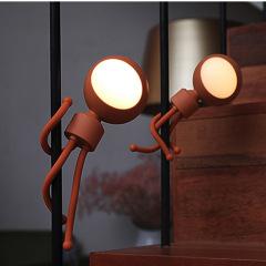 百变小子 智能小夜灯 便携USB充电夜灯 LED伴睡灯 夏天小礼品