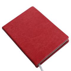 糖果色皮面手账本 A5简约笔记本 企业logo定制