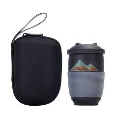 【千里江山】马克杯过滤大容量茶杯 过滤三件套 50到150元的礼品礼品
