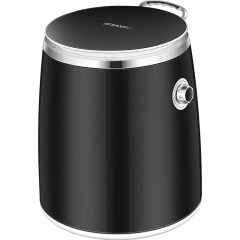 山水(SANSUI)家用迷你洗脱一体单桶洗衣机 品牌赠品