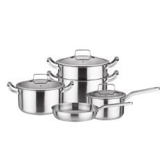 全能套裝鍋四件套奶鍋湯鍋煎鍋蒸鍋四件套多用鍋組合 訂做禮品