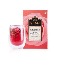 【玫瑰洛神花茶】chali花果茶系列10包装 酸甜果味冷泡鲜爽 独立茶包组合装 夏季礼品