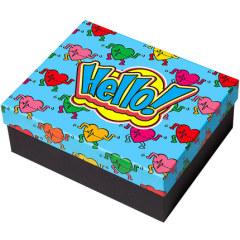 【现货空礼盒】嘻哈元素探案方形礼品盒 朋友赠礼