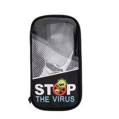 法国YESO 防疫洗护包套装 收纳包+10片医用一次性口罩+消毒湿巾2包+免洗速干凝胶 健康礼品