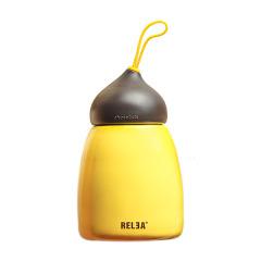RELEA物生物温暖时光不锈钢可爱可可保温杯 三八妇女节礼品 公司活动奖品