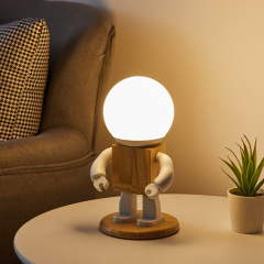 个性机器人台灯 房间装饰灯夜晚睡眠灯 奖品有哪些