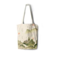 【成都博物馆】蜀川胜景帆布包 特色设计  推广活动小礼品