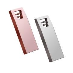 U盘3.0高速金属u盘 坚固梯形环扣设计优盘定制激光订做16G64g32G128G车载USB2.0 展会礼品定制